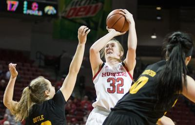 Nebraska women's basketball's Leigha Brown has 'intensity about her in every rep'