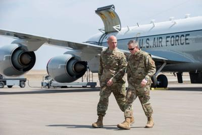 Air Force chief of staff visits Offutt