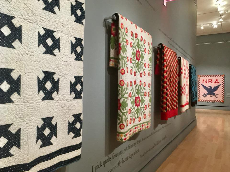 Quilt collection from Ken Burns – yes, that Ken Burns – is
