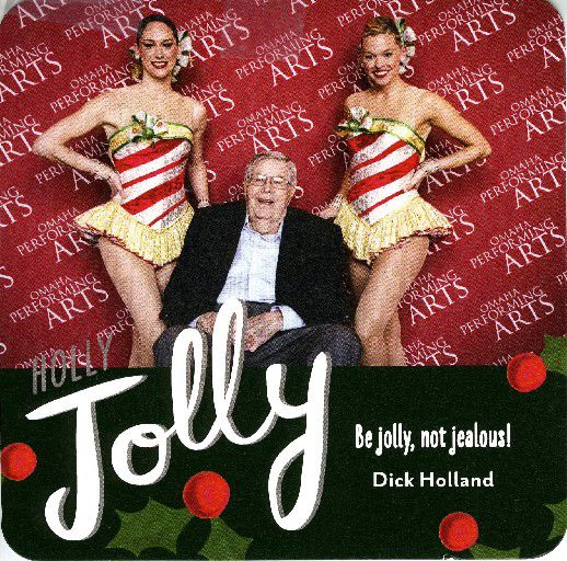 Dick Holland Christmas card
