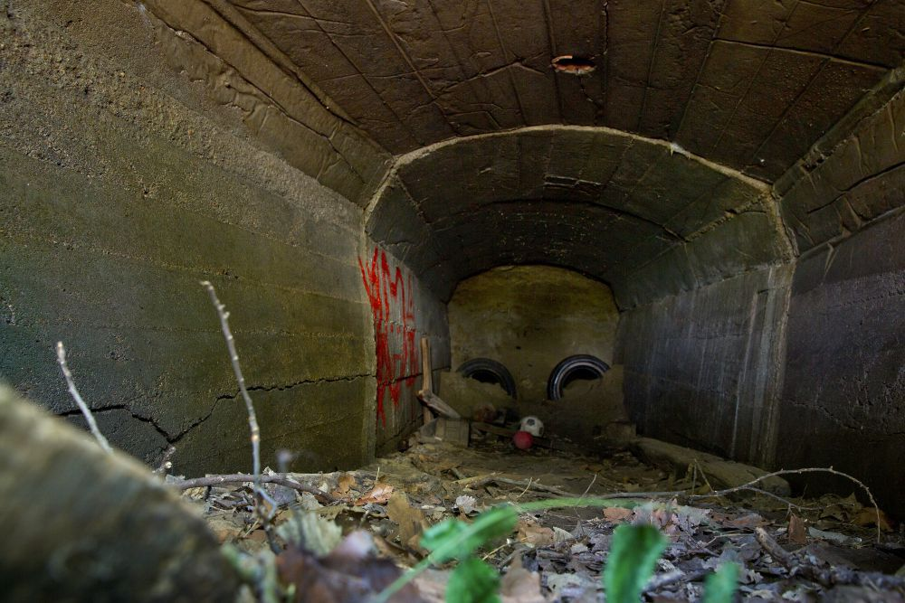 The story of the bizarre (bootlegging?) tunnels beneath