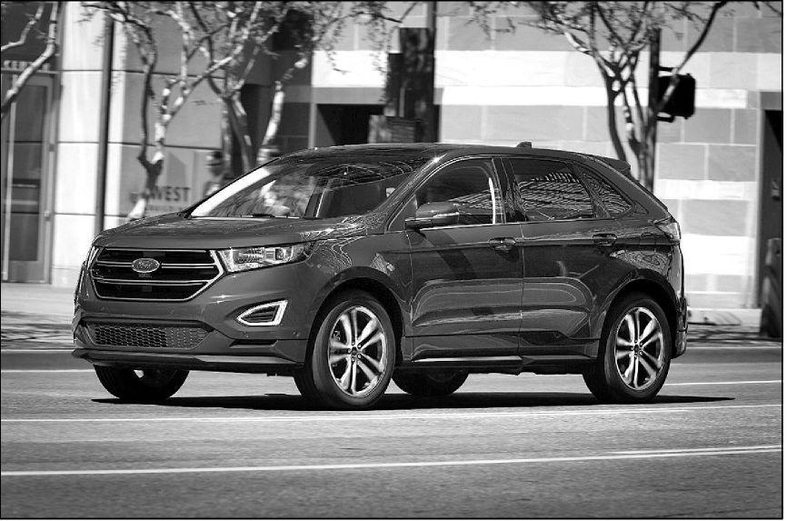Ford Edge gets first big overhaul, now bigger, sleeker