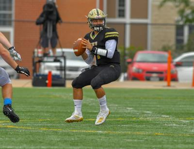 Six-touchdown day for Nebraska Wesleyan quarterback Jonathan Curti comes with school record
