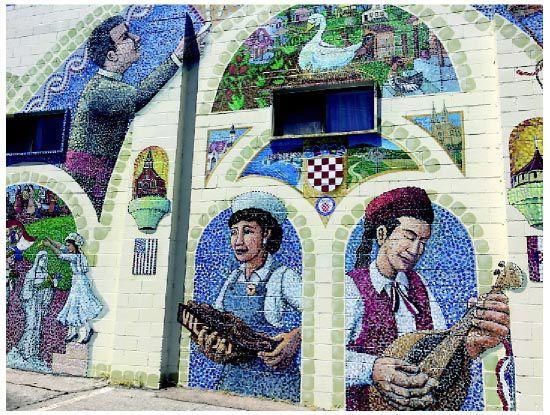 Mural celebrates Croatian immigrants in South Omaha