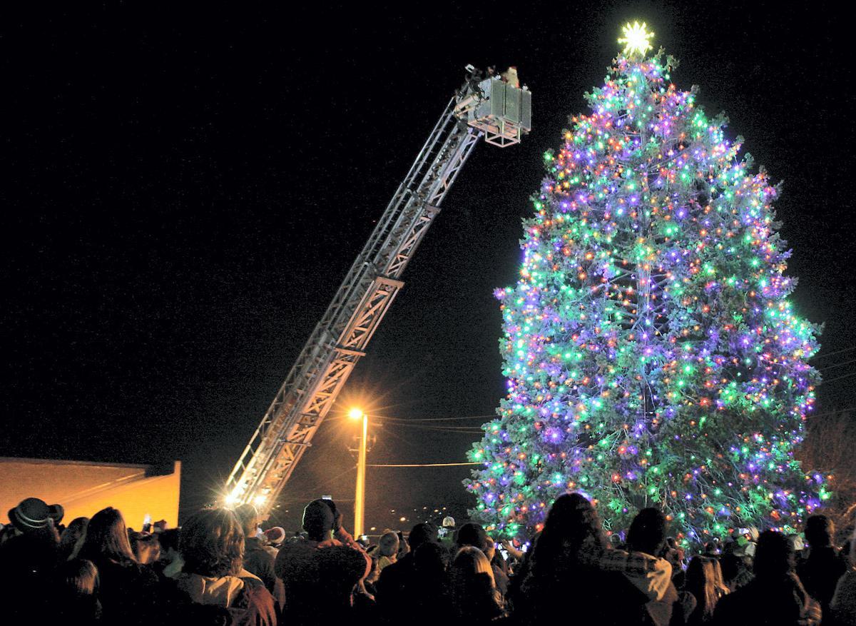Check out a tree lighting in La Vista