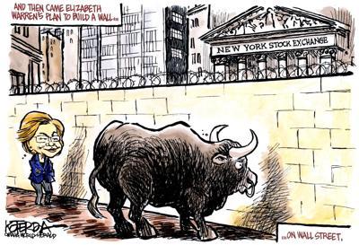 Jeff Koterba's latest cartoon: She has a plan