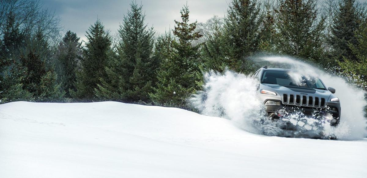 Jeep Cherokee: Snow lover