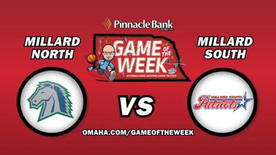 The Pinnacle Bank Game of the Week is...