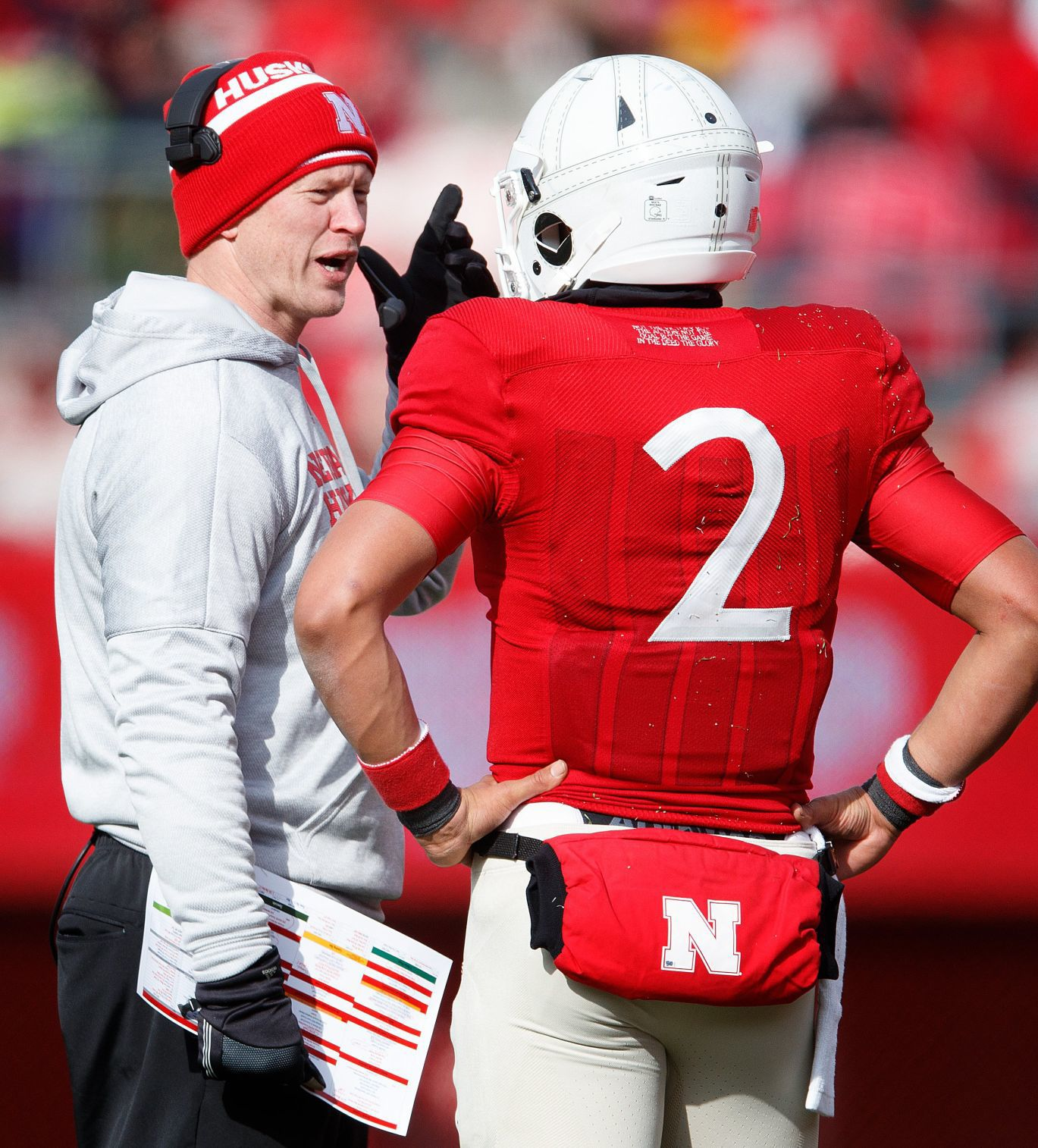 McKewon: Magazines say Nebraska will turn the page with Scott Frost, Adrian Martinez