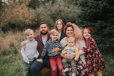 Rachel Higginson and family