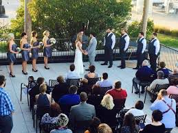 The Old Mattress Factory - Outdoor Ceremony