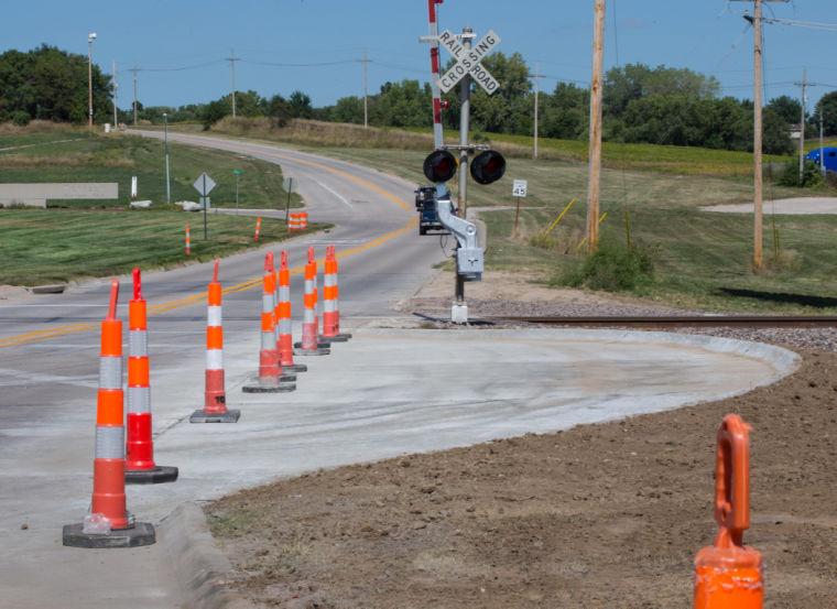 La Vista installing medians to improve safety near railroad crossings