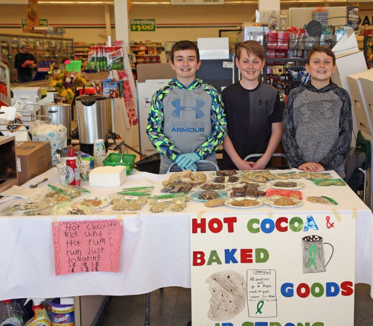 Aspen Creek Middle School fundraiser