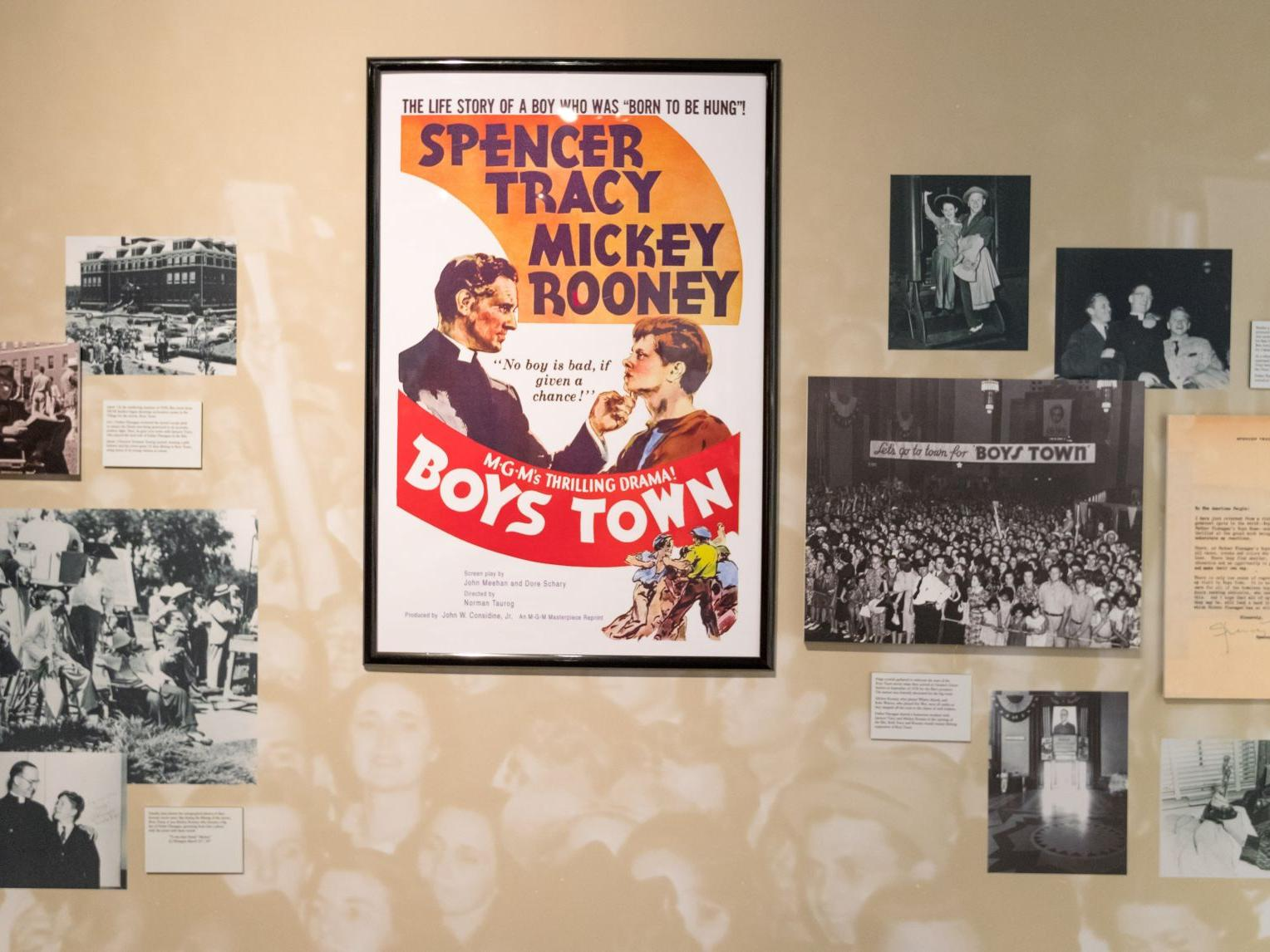 Durham Museum will show 1938 film 'Boys Town' for Boys Town's 100th anniversary