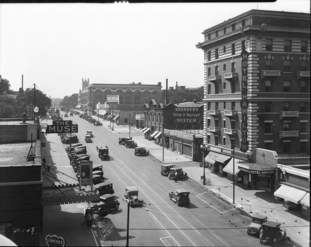 24th and Farnam - 1928