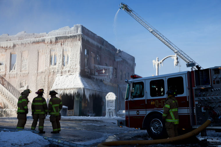 Plattsmouth Mourns Loss Of 132 Year Old Waterman Opera House Building In Fire News Omaha