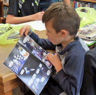Free Comic Book Day a hit at library