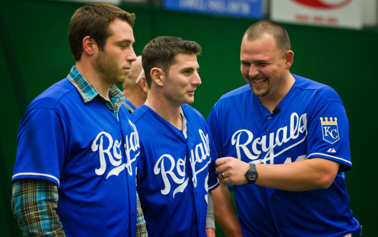 Q&A: Kansas City Royals Butler, Giavotella, Holland, Mayberry and broadcaster Goldberg