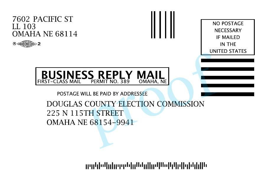 Douglas County Democratic Party mailer