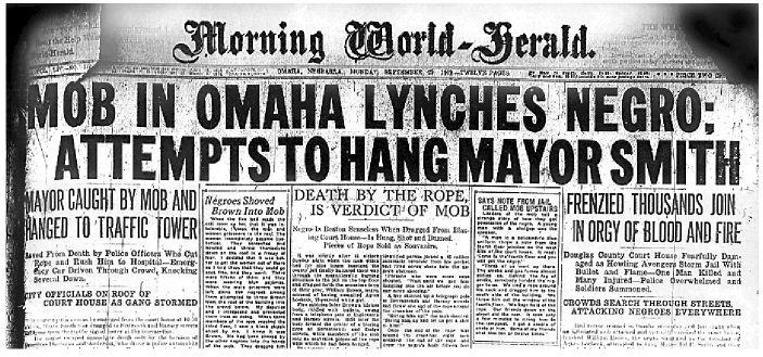 THE LYNCHING OF WILL BROWN