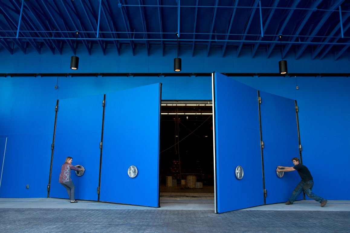 Blue Barn Theatre S New Home Has Slightly Larger Capacity
