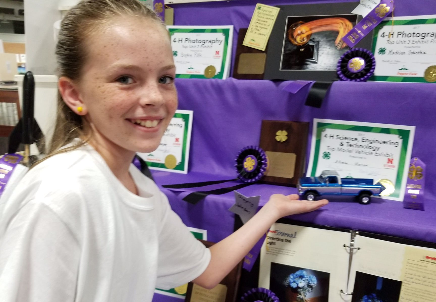 2 cited after stealing 11-year-old 4H project from fair