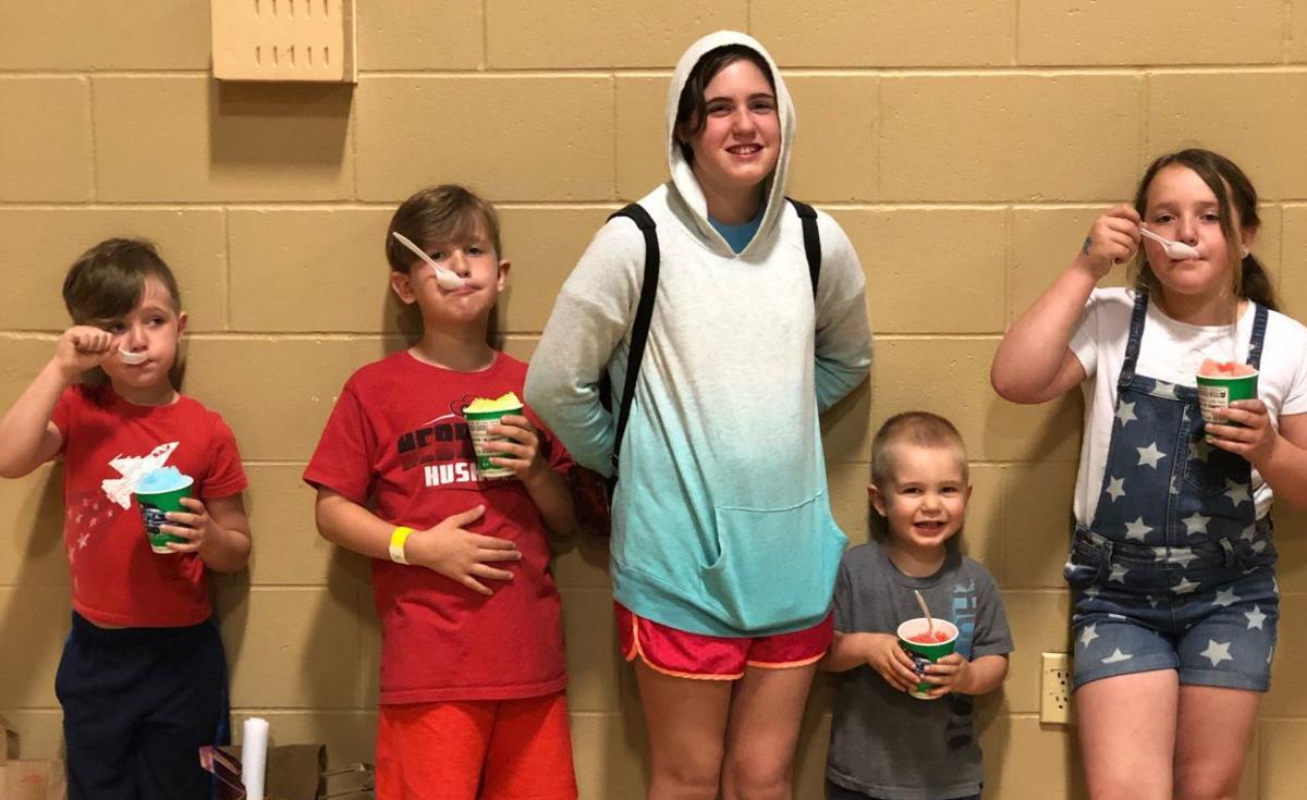 Rachel Higginson kids summer 2019