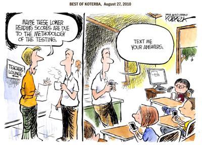 Best of Jeff Koterba's cartoons: Modern communication