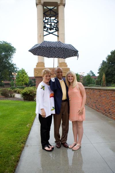 Michael Yanney, Dr. Gail Yanney and Morgan Kristensen