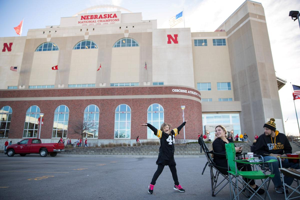 Nebraska Football  | Iowa Game | 2017  |  Memorial Stadium