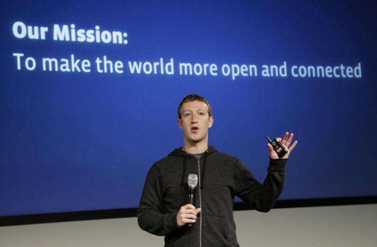 Facebook leads effort to get whole world online