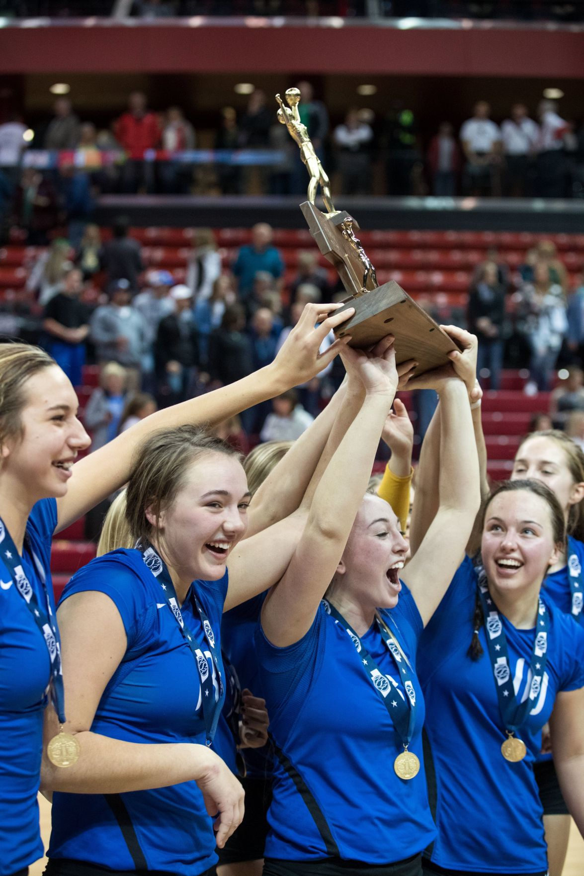 Wahoo bests Neumann as the best in Class C to win All-Sports Award