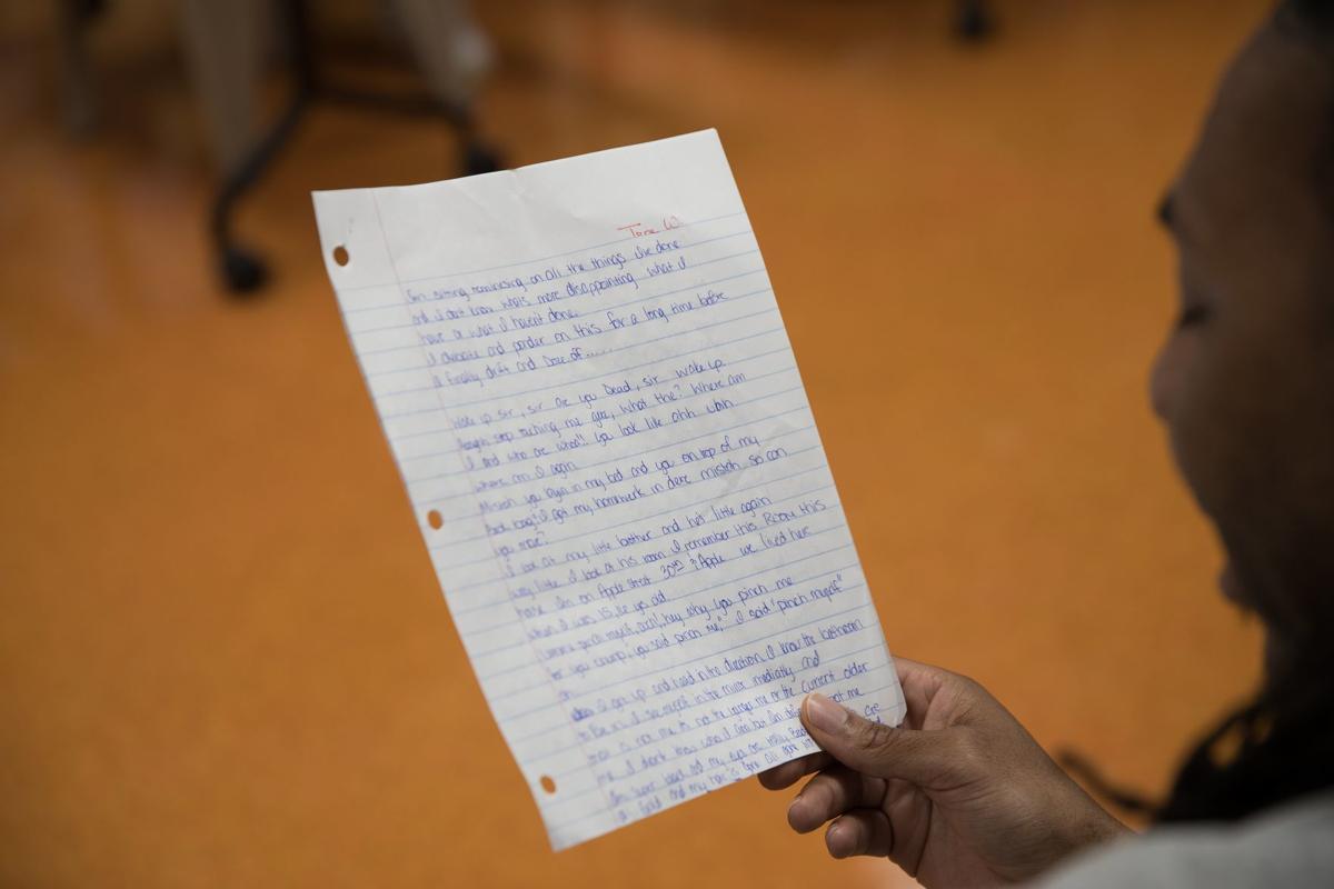 Hansen: Through creative writing class — and some tears