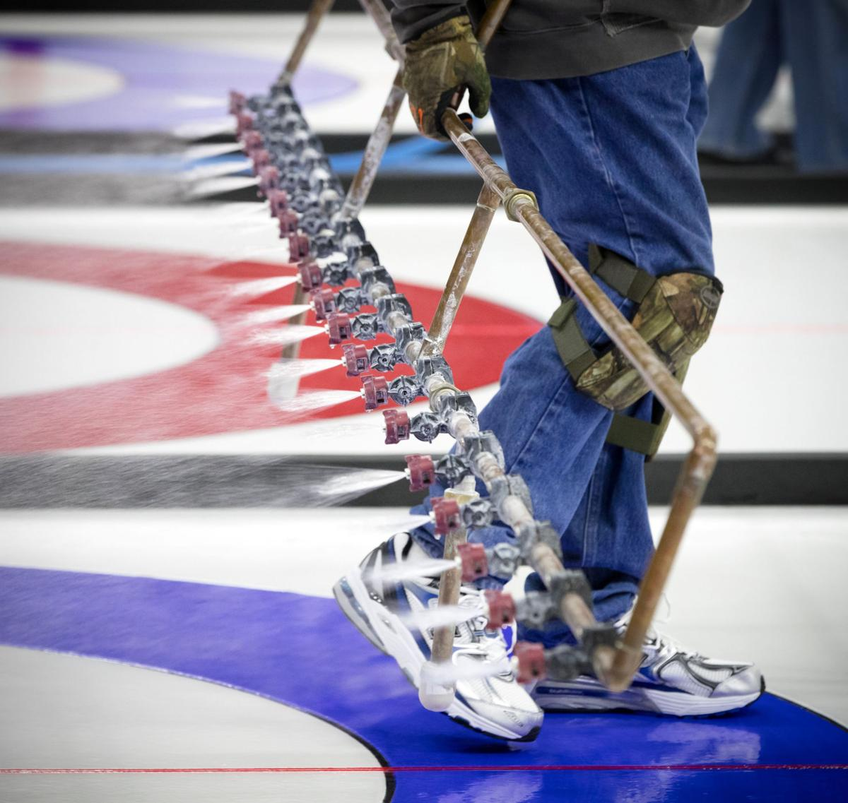 Curling prep