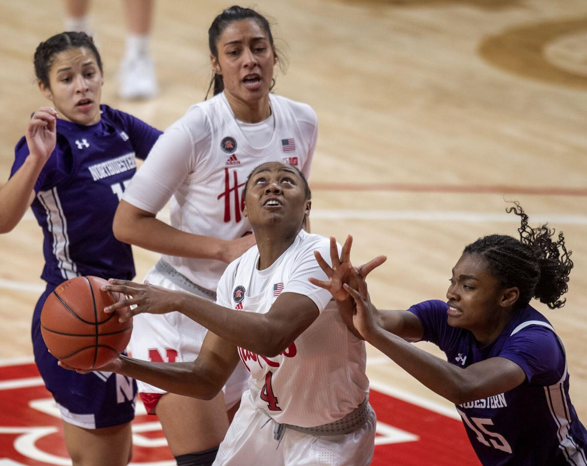 Sam Haiby's buzzer beater helps Huskers upset No. 15 Northwestern