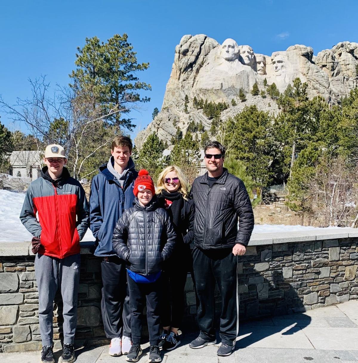 Vacation: Coronavirus (Mount Rushmore)