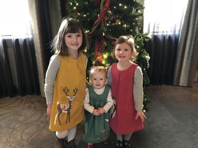 Kraemer girls Christmas 2017