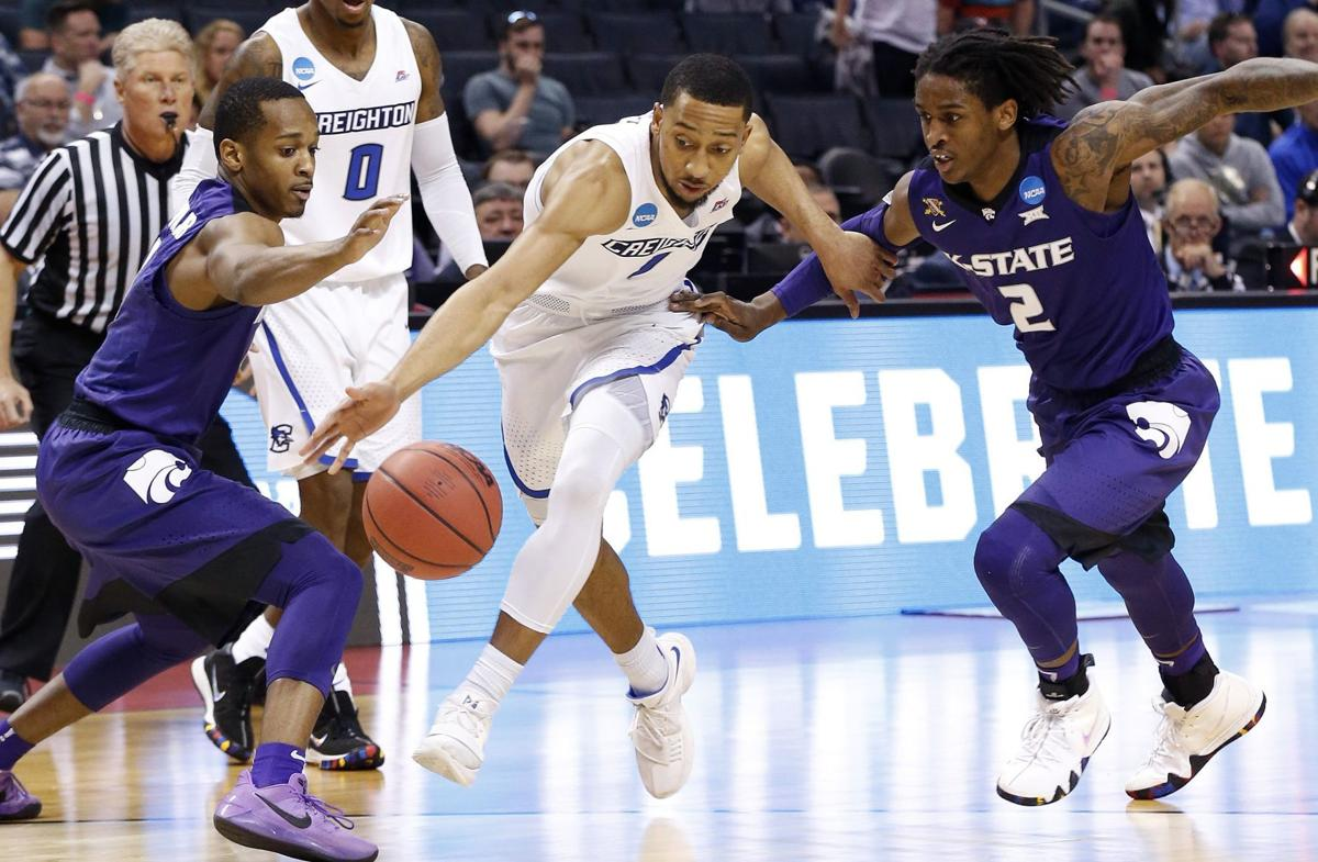 NCAA Creighton Kansas State Basketball