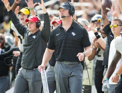 Scott Frost anticipates coaching undefeated UCF in Peach Bowl against Auburn