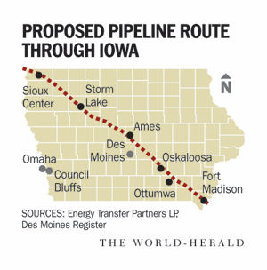 Iowans have their say on proposed Dakota Access oil pipeline