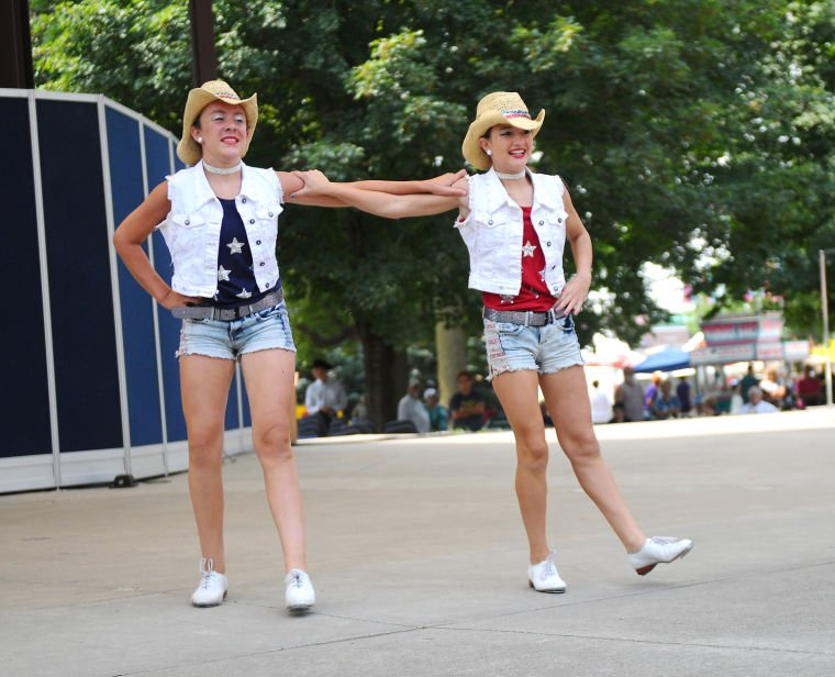 Iowa State Fair: A one, and a two, and a kick ...