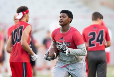 TBL: Keyshawn Johnson Jr. remains '100 percent committed' to Nebraska after official visit