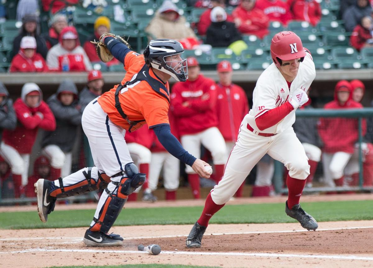 Two-out, two-run double in ninth costs Huskers game, series against Illinois (top)
