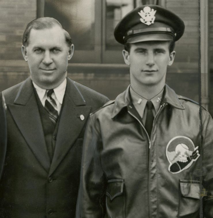 Grace: In Storz family, successful man had son beside him