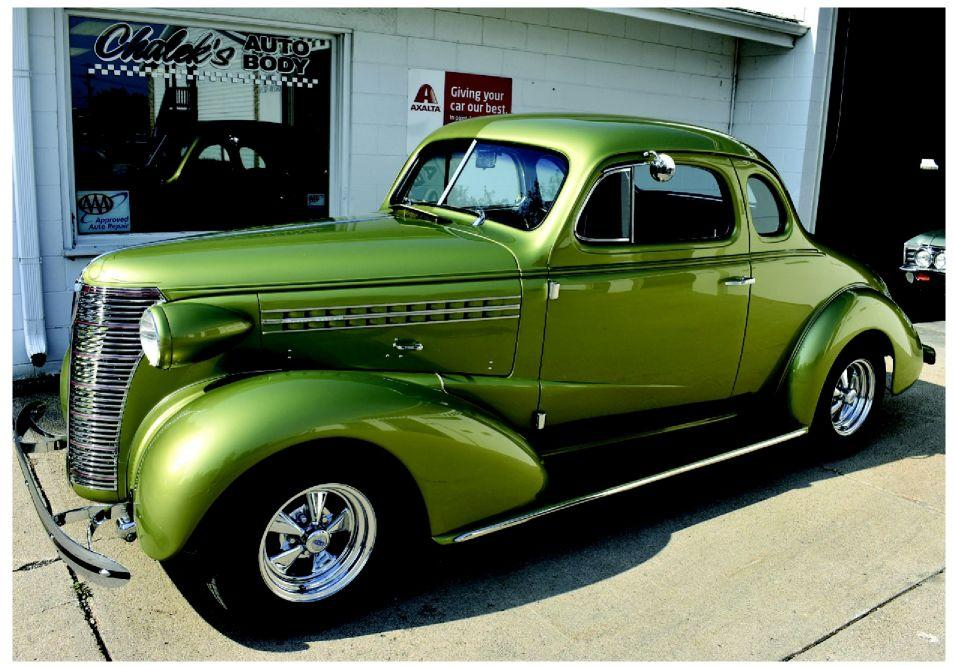 Triple timer '38 Chevy coupe back with family | Articles | omaha com