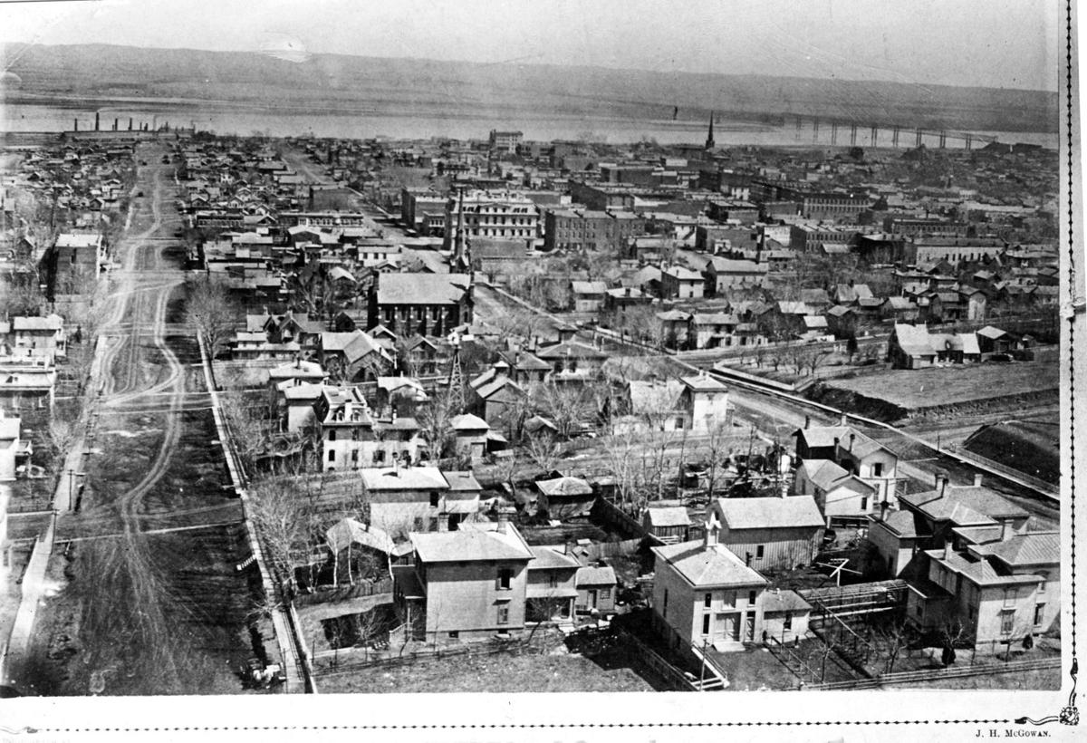 View of Omaha 1867