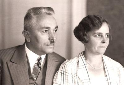 Friedrich and Pauline Kellner