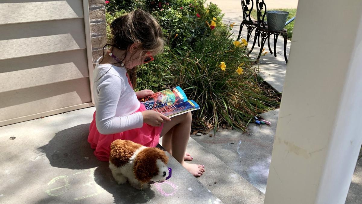 Kate Kirkle reading