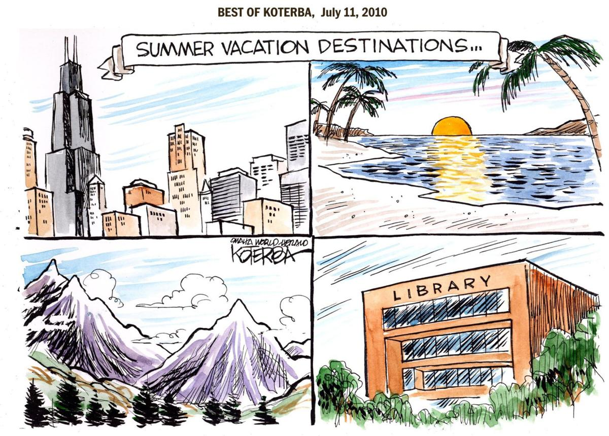 Jeff Koterba's Best of Koterba cartoon: How to spend a memorable summer