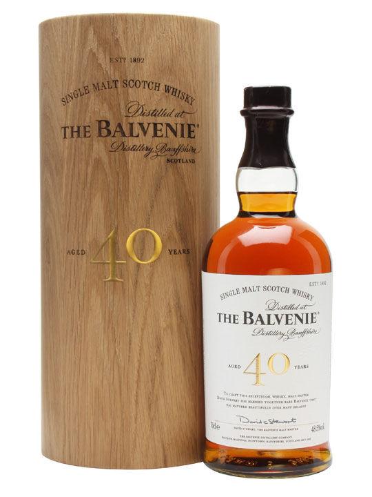 The Balvenie 40 Year Single Malt